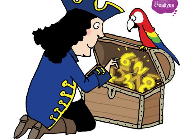 Free pirate family download. Pirates clipart math
