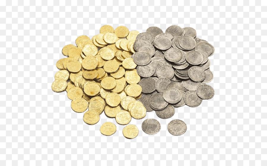 Cartoon coin transparent . Pirate clipart money
