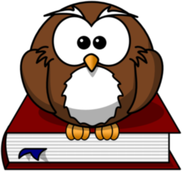 The clip art at. Scientist clipart owl