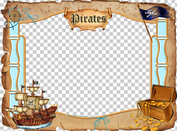 Pirates clipart picture frame. Piracy png buried treasure