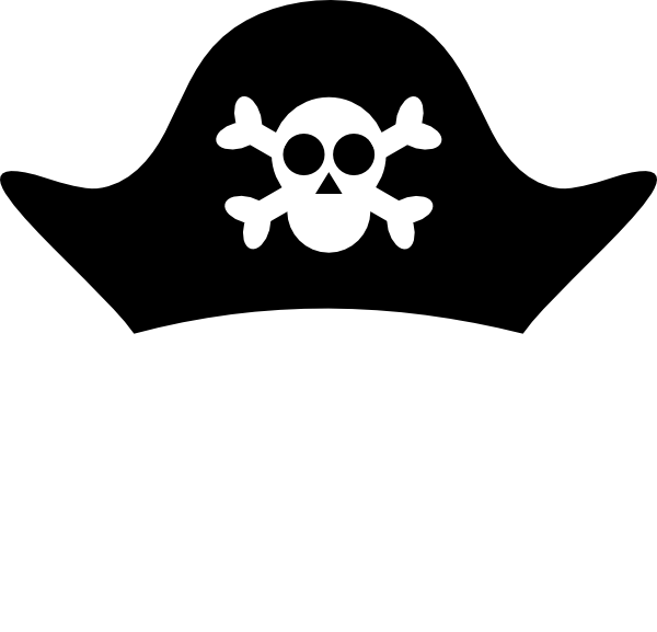 Cartoon pictures secondtofirst com. Pirate clipart pirate hat