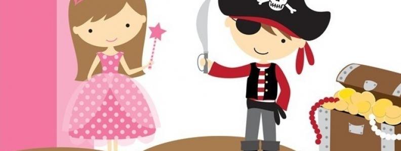 X free clip art. Pirate clipart princess