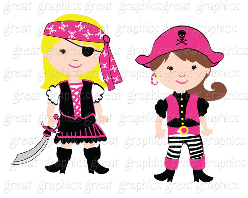 Girl pirate clip art. Pirates clipart printable