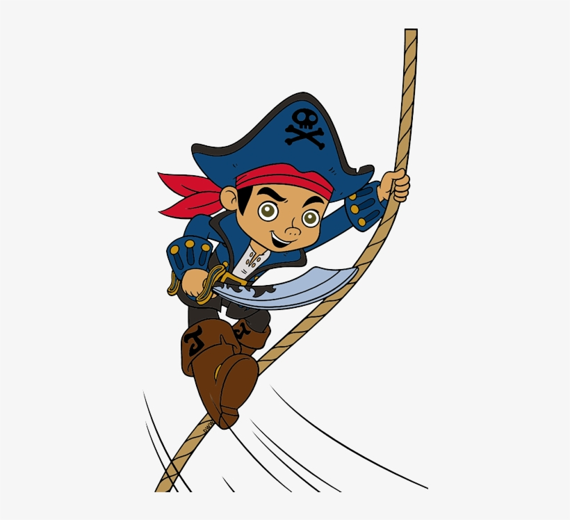 Pirate clipart rope. Pirates roommates captain jake