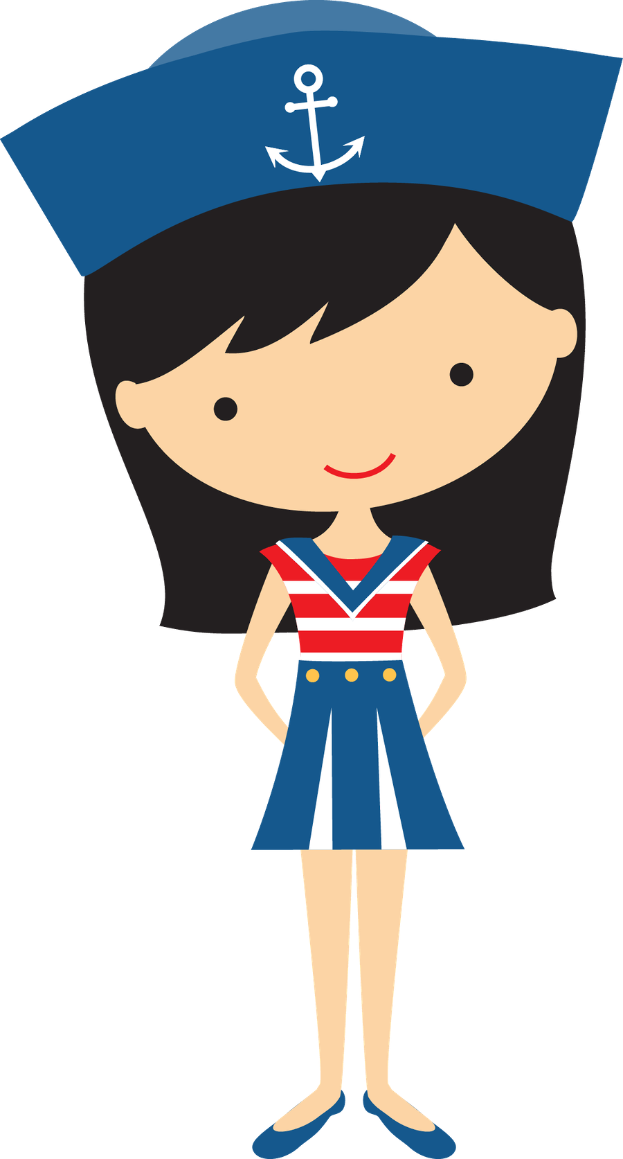 Sailor clipart female sailor. Free download best on