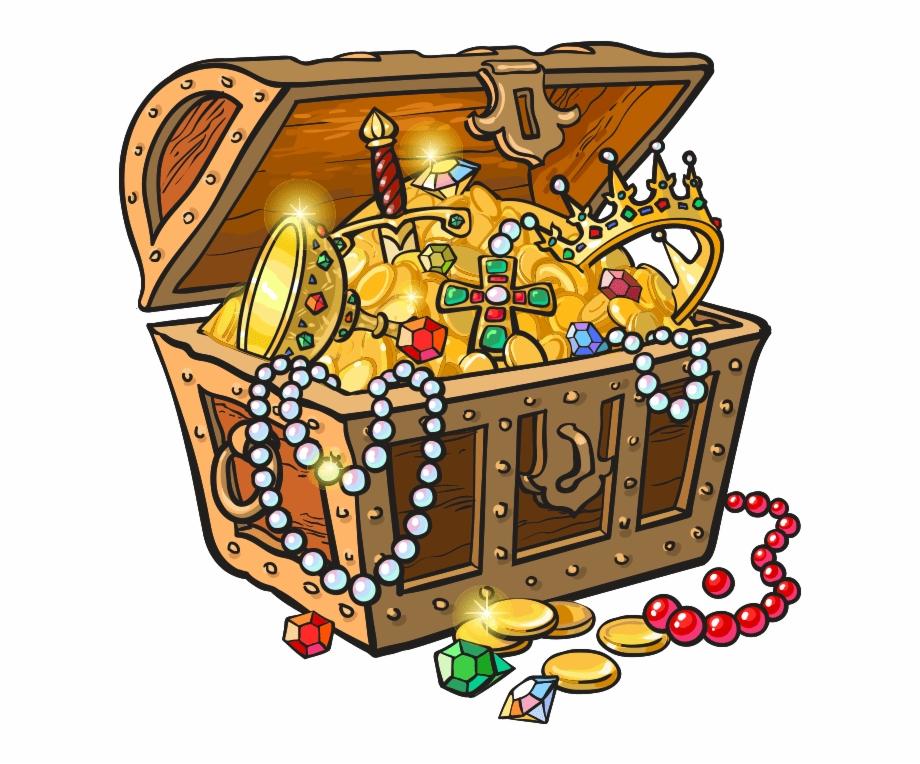 Treasure clipart pirate treasure. Treasurechest chest gold