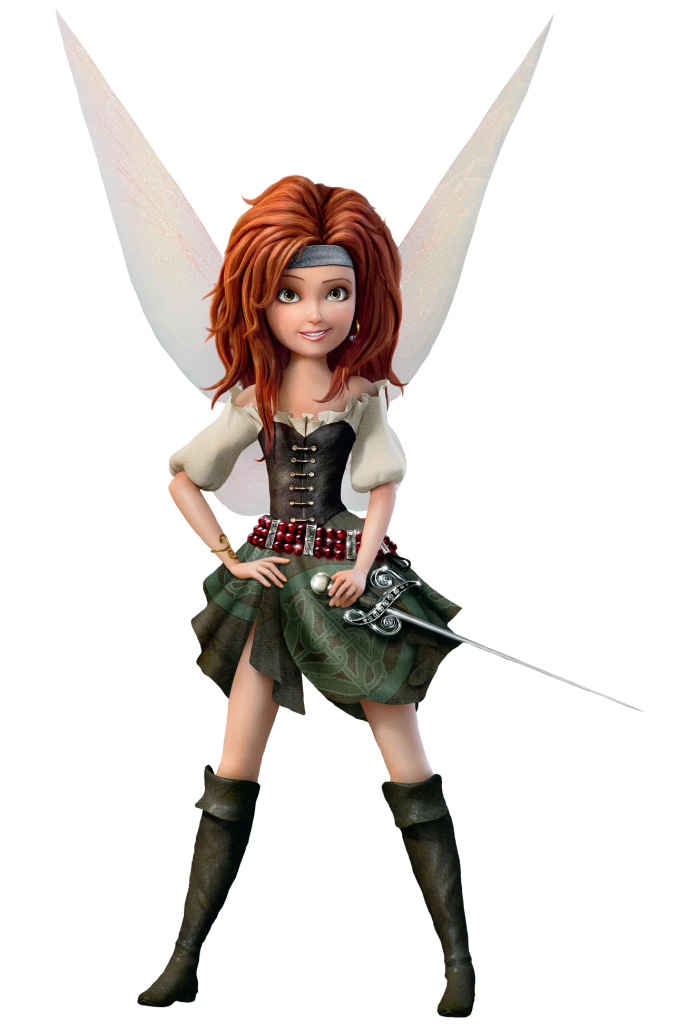 Zarina the pirate extracted. Tinkerbell clipart fairy queen