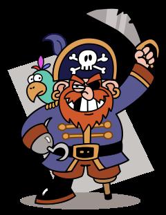 Pirate clipart. Clip art free panda