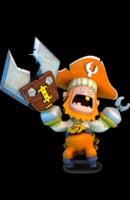 Pirates clipart character. Mack mckraken plunder wiki