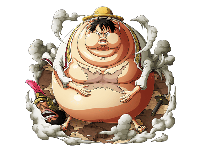 Pirates clipart fat. Monkey d luffy by