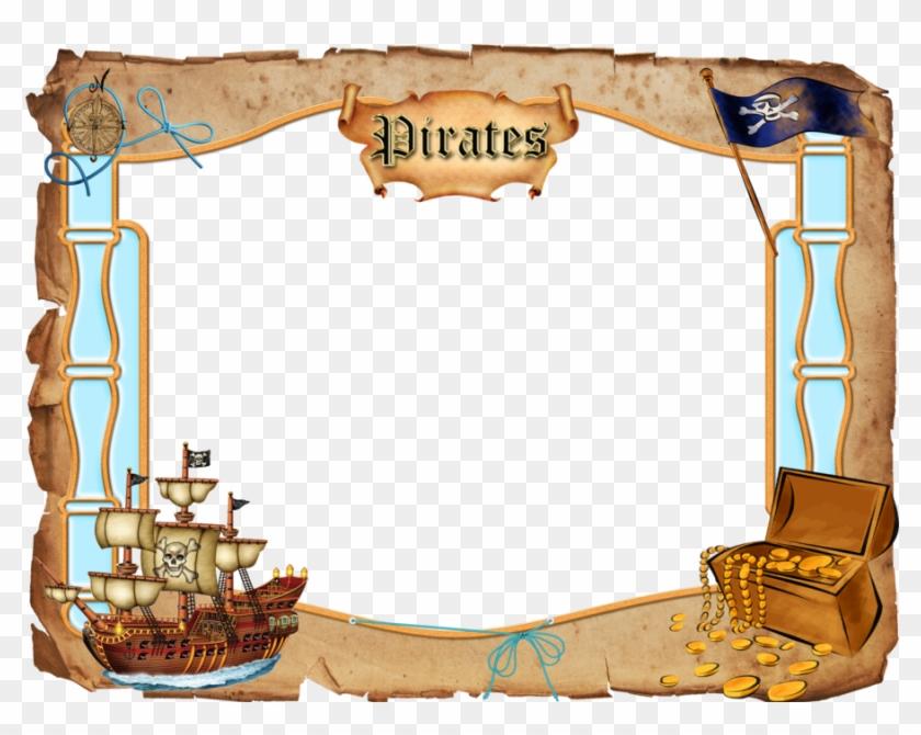 Pirates clipart picture frame. Treasure border png transparent