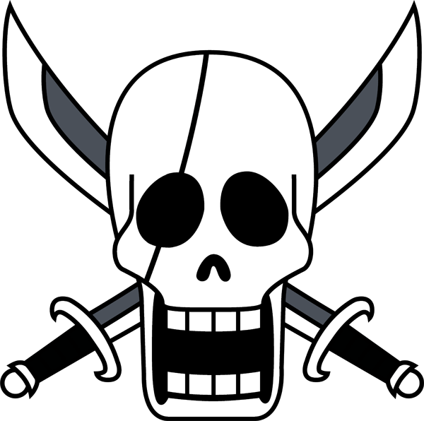 One piece ship of. Pirates clipart scar