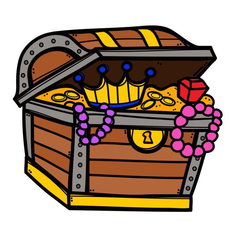 Pirate chest free download. Treasure clipart cute