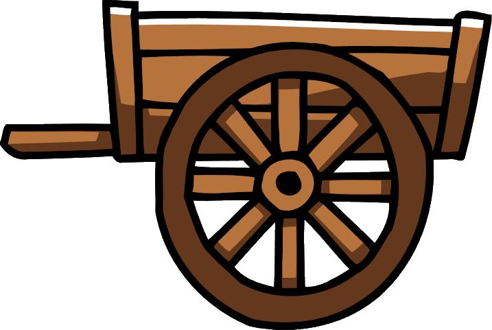 Handcart scribblenauts wiki fandom. Wagon clipart hand cart