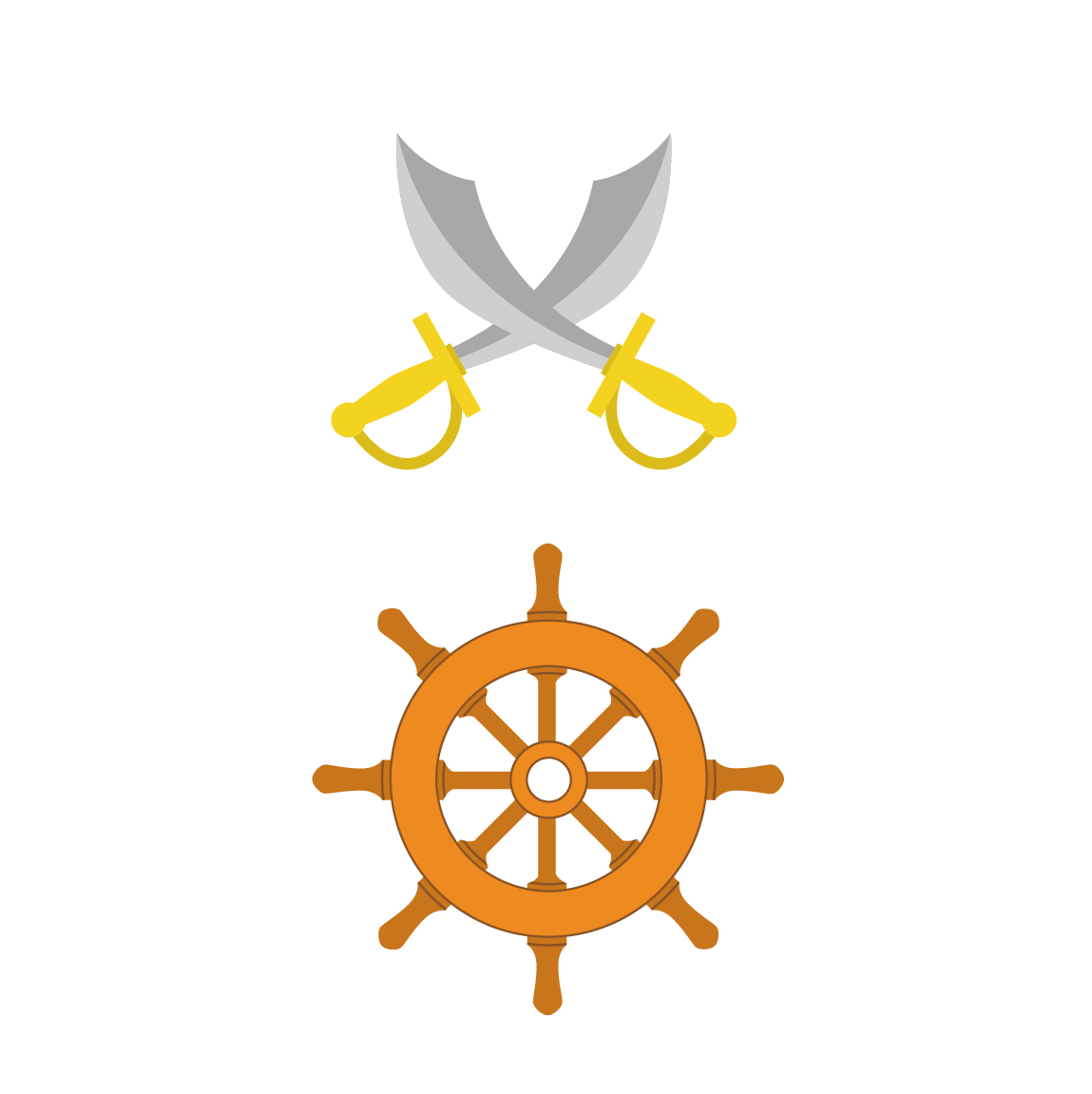 Wheel clipart pirate boat. Ships clip art transprent