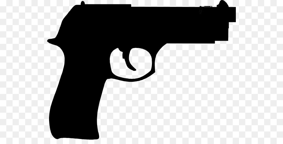 Pistol clipart. Firearm rifle cartoon clip