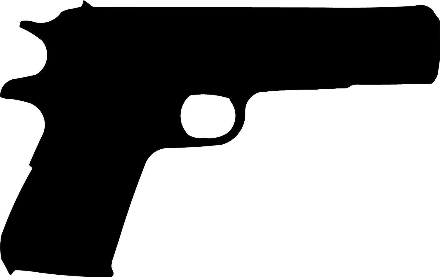 Unique design digital collection. Pistol clipart