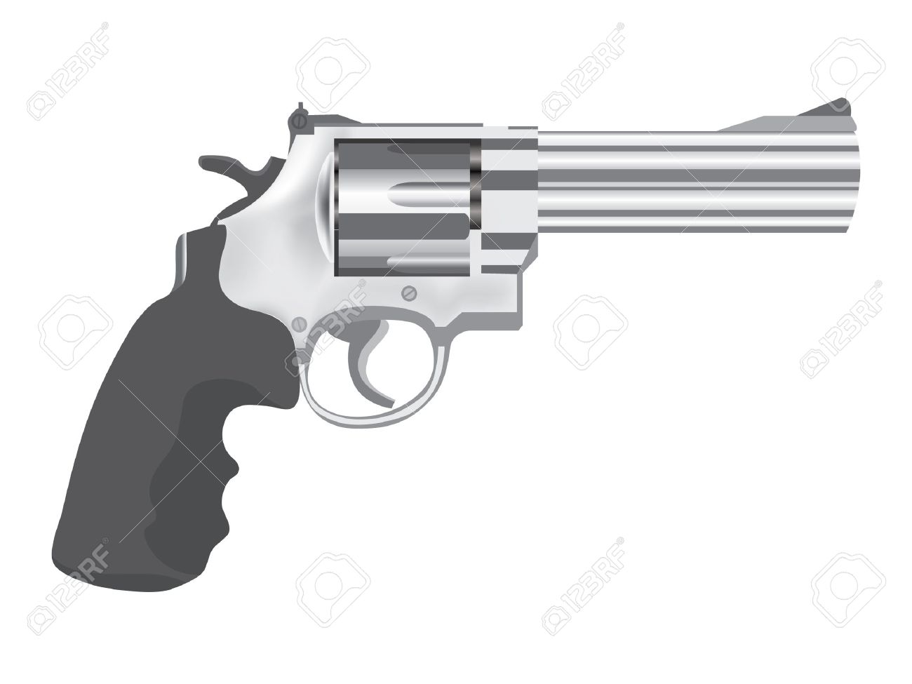Pistol clipart. Machine gun hand pencil