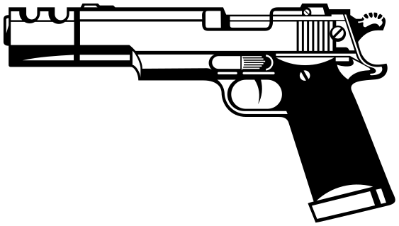 Weapons guns png html. Pistol clipart