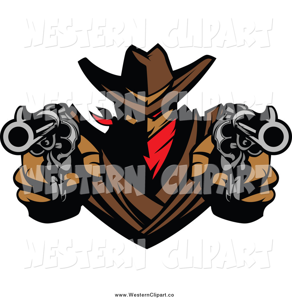 Clip art of a. Pistol clipart outlaw