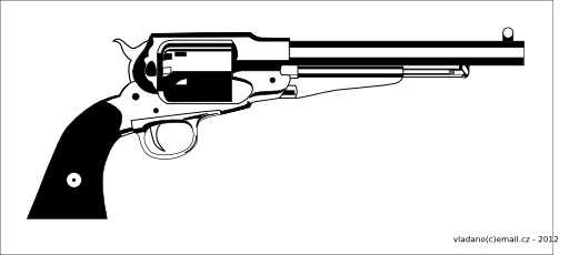 Pistol clipart peacemaker colt. Pin on morning for