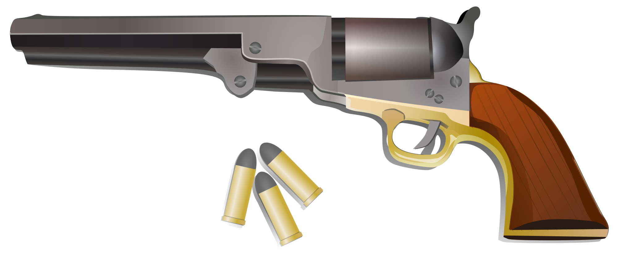 File svg wikimedia commons. Pistol clipart peacemaker colt