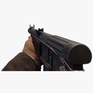 Pistol clipart ww2 gun. Transparent guns ww call