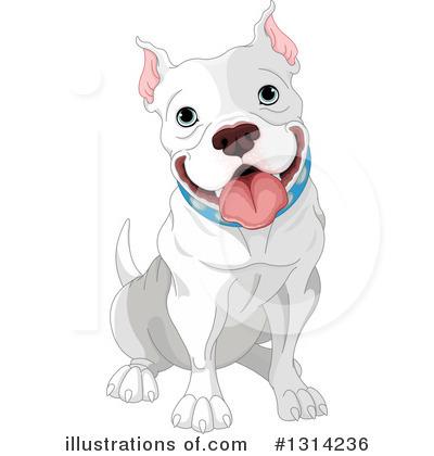 Illustration by pushkin royaltyfree. Pitbull clipart