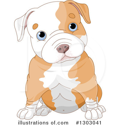 Pitbull clipart. Illustration by pushkin royaltyfree