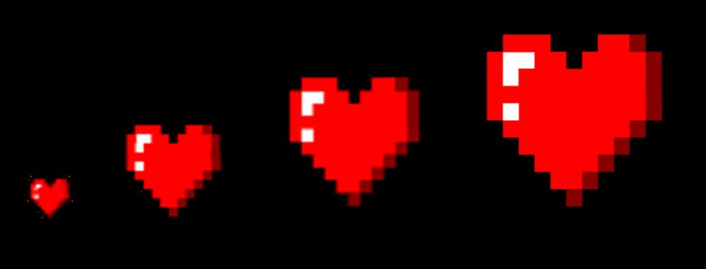 Pixel hearts png. Heart art opengameart org