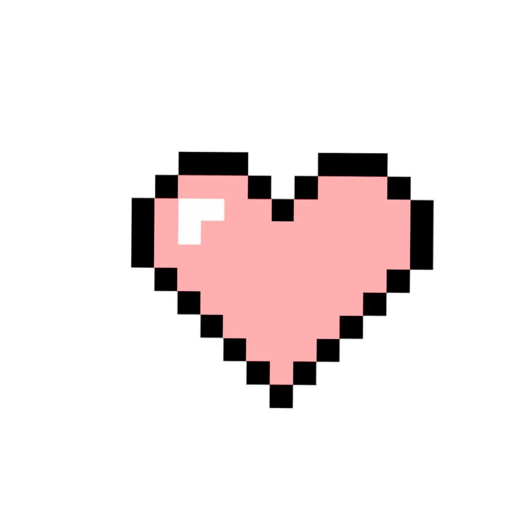 Pixel hearts png. Heart pixelart tumblr