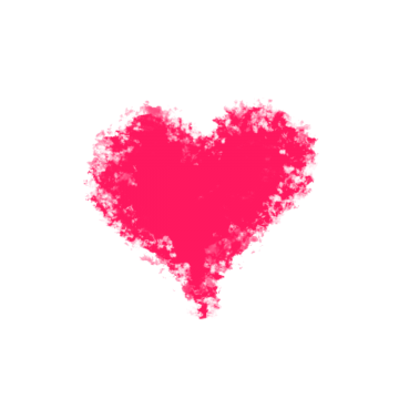 Real heart vectors psd. Pixel hearts png