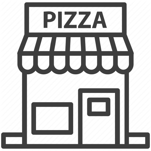 Pizza clipart pizza place.  food drinks set