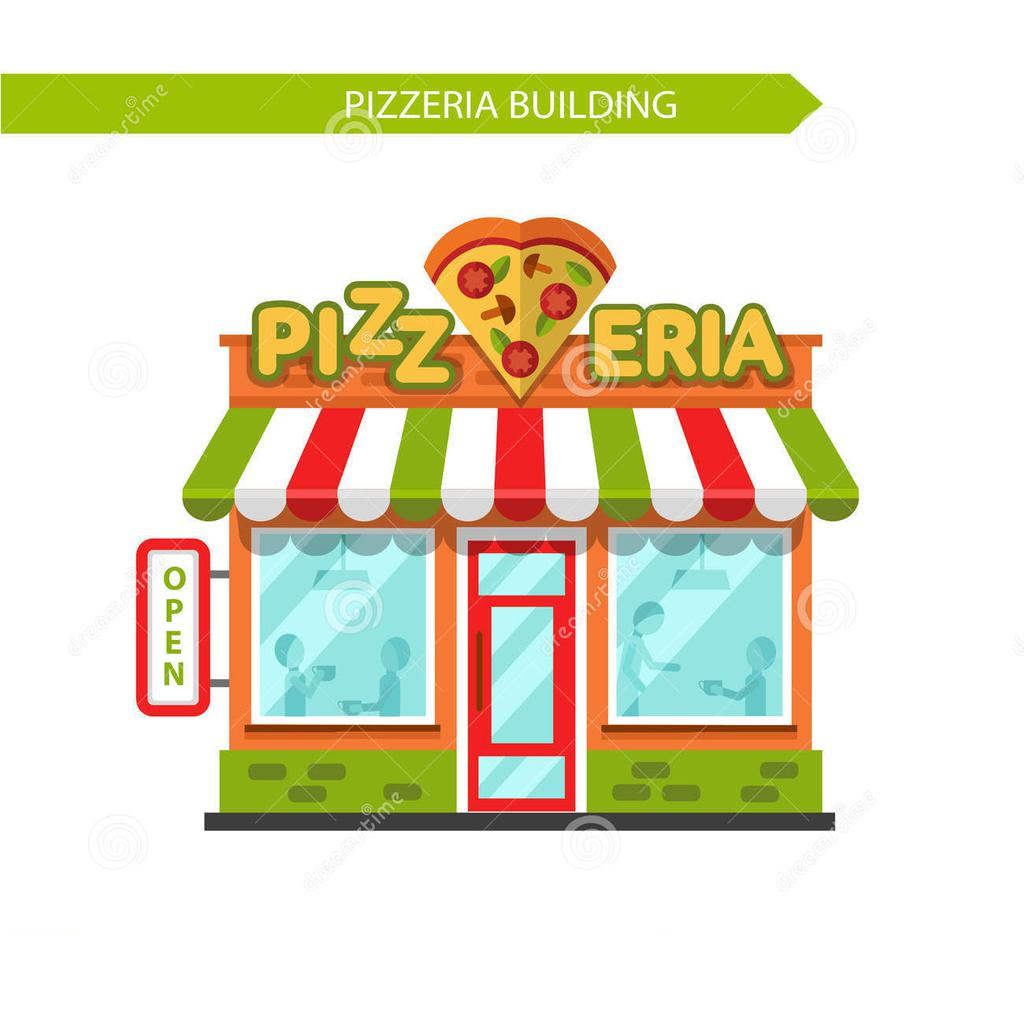 Pizza clipart pizza shop. Bulding place free cliparts