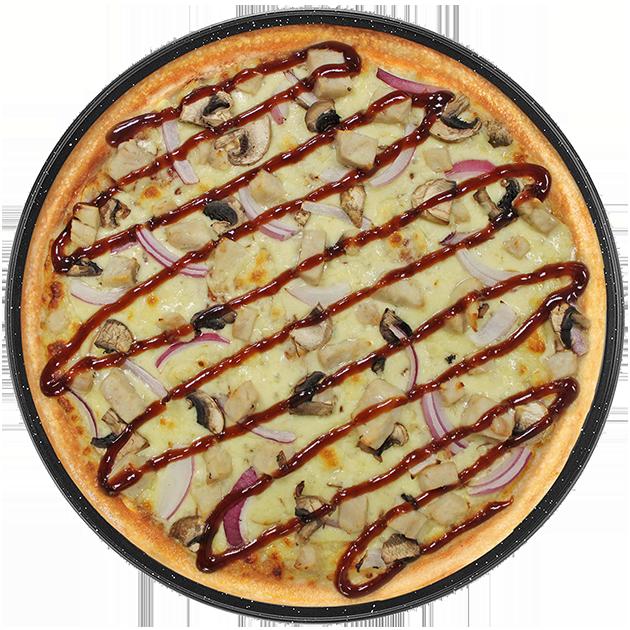 Pizza clipart salad. Menu bbq chicken