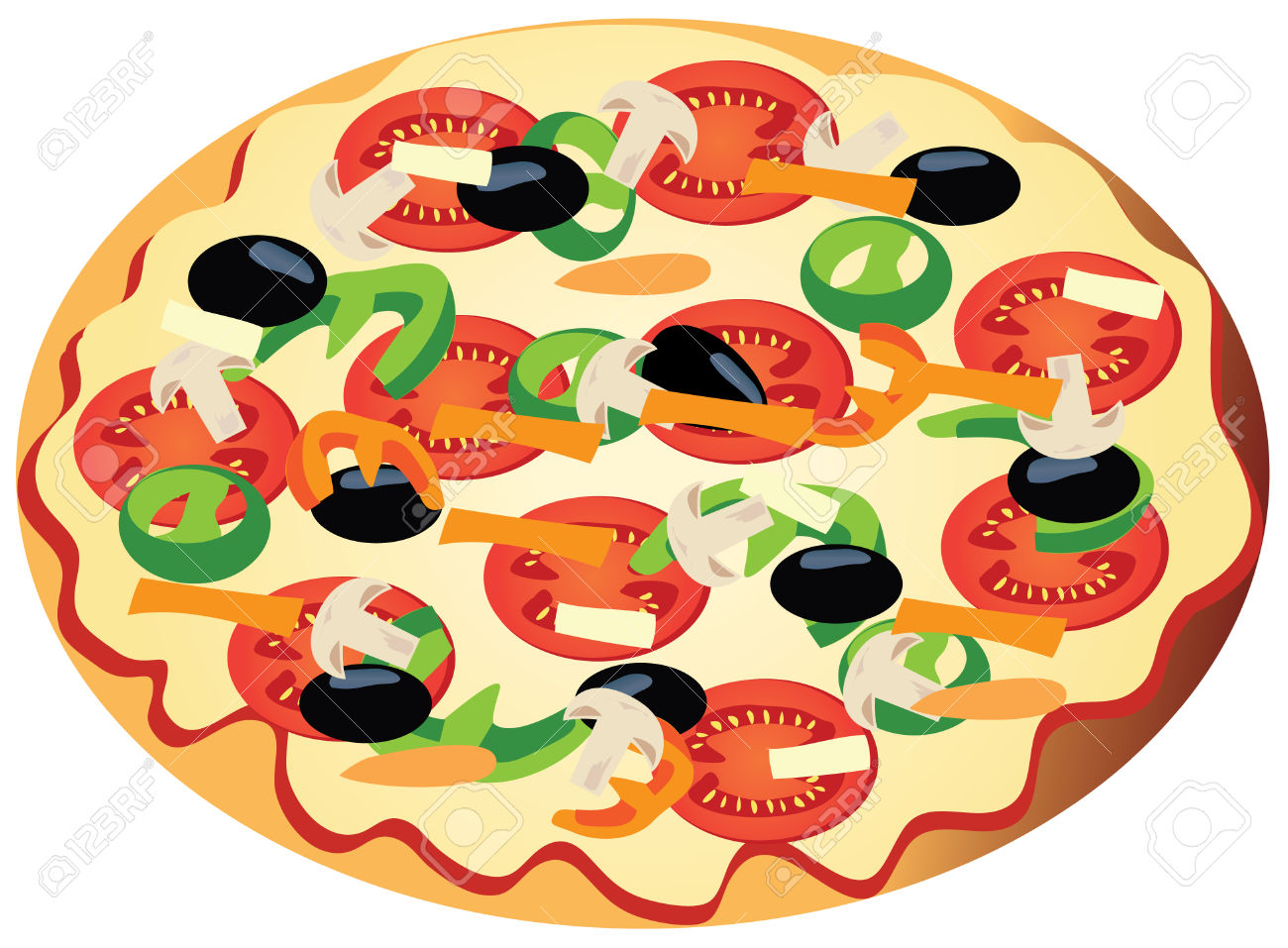 Pizza clipart salad. Free download best on