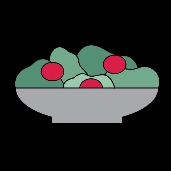 Order online dorlo salads. Pizza clipart salad