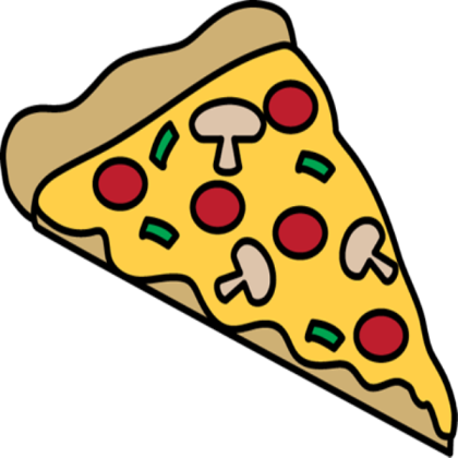 Images slice roblox . Pizza clipart sliced pizza