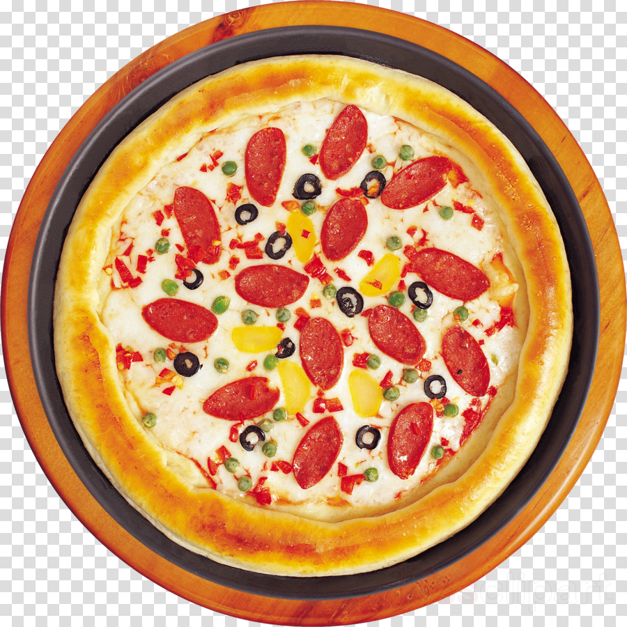 Pizza clipart top view. Png download on clipartwiki