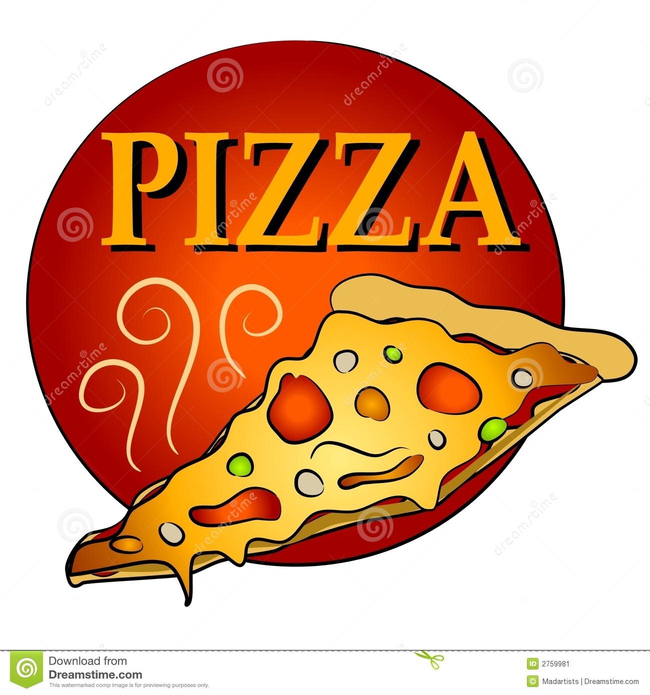 Pizza clipart yummy pizza.  slice of clipartlook