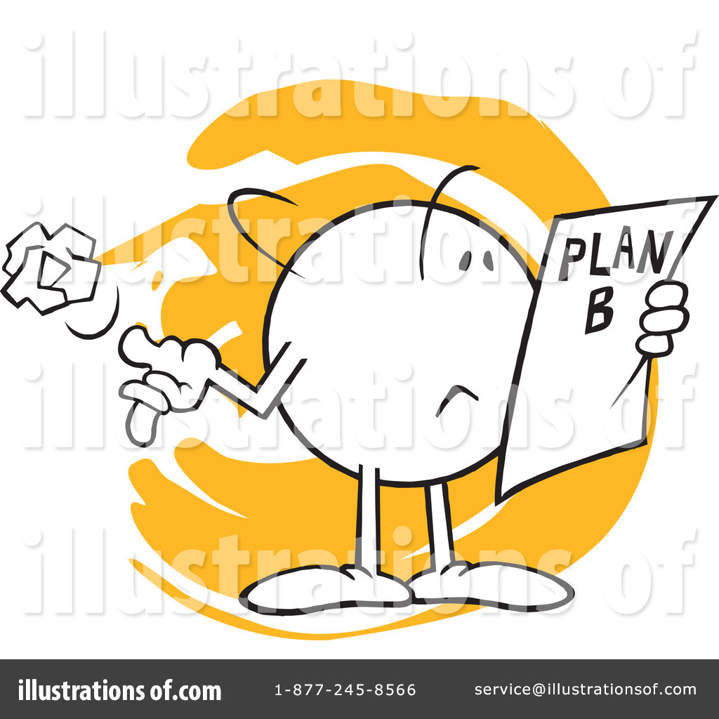 Planning illustration by johnny. Plan clipart