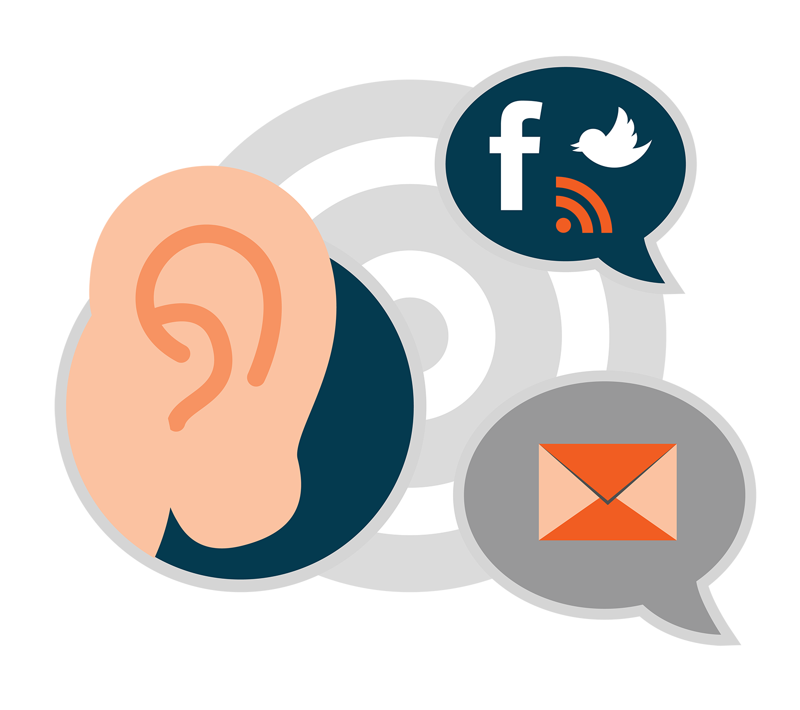 Listening turn real time. Report clipart action plan