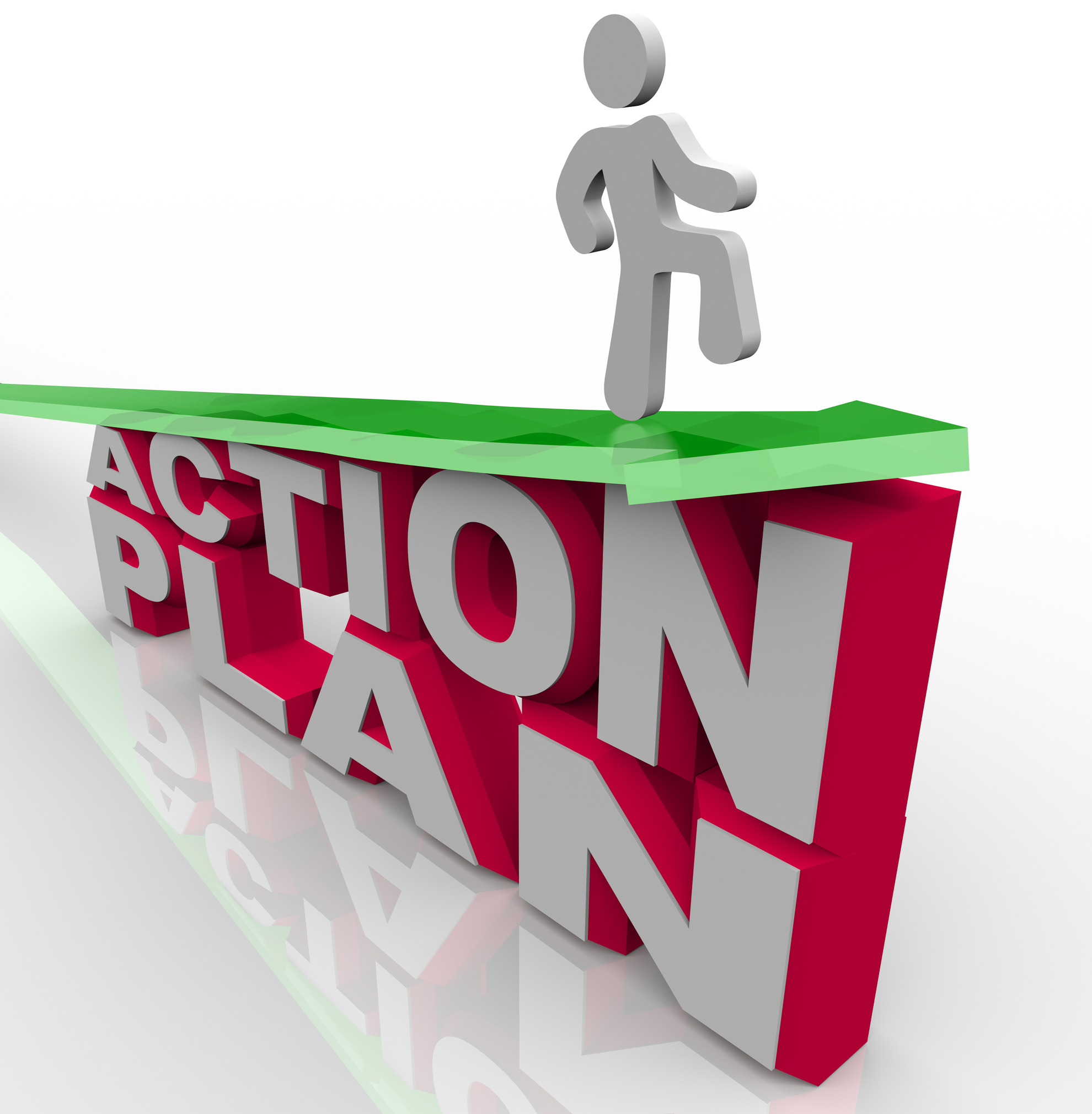 Action cliparts zone . Planning clipart work plan