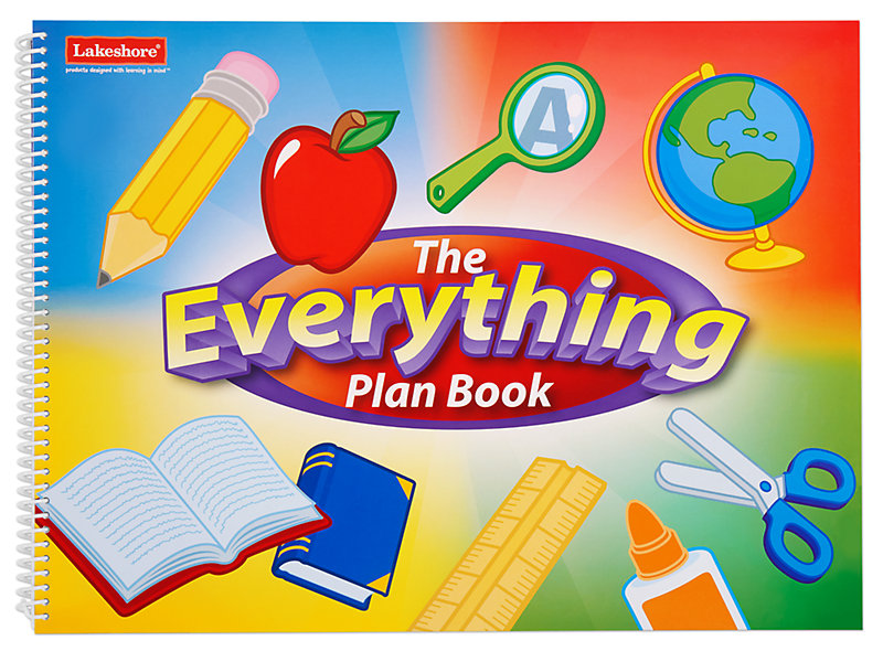 The everything lesson book. Planner clipart session plan