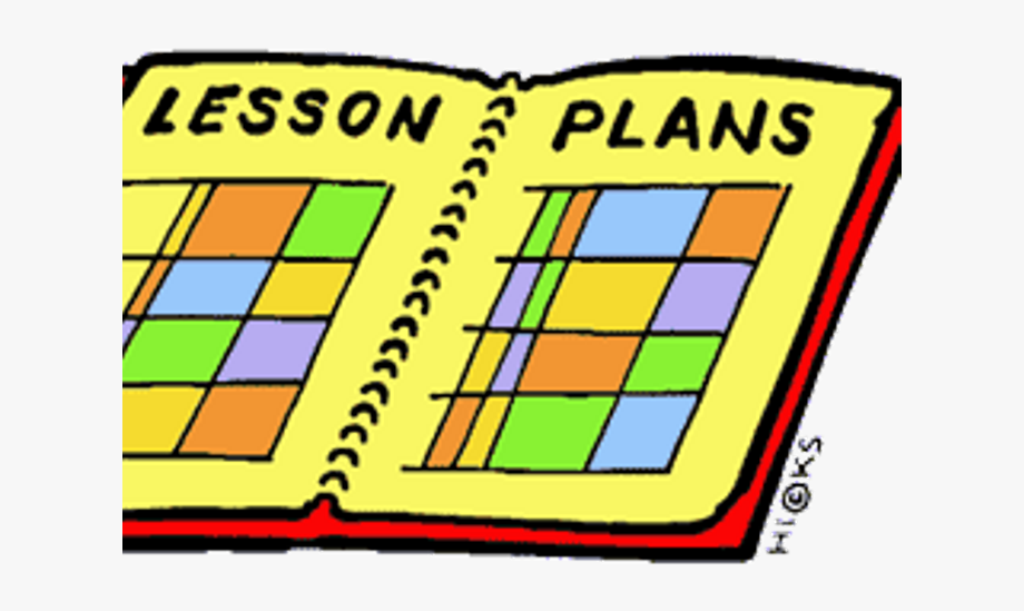 Planning clipart weekly plan. Lesson teacher clip art