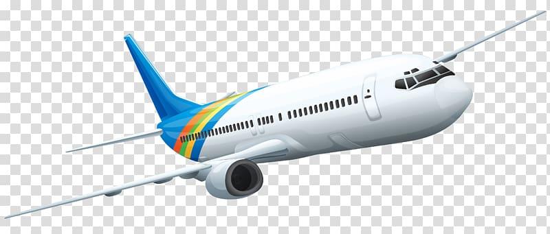 Airplane illustration of transparent. Plane clipart airliner