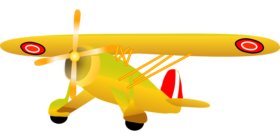 Yellow airplane cliparts shop. Plane clipart gold