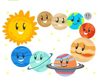 Planet clipart adorable. Cute planets pics about