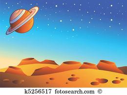. Planet clipart alien planet