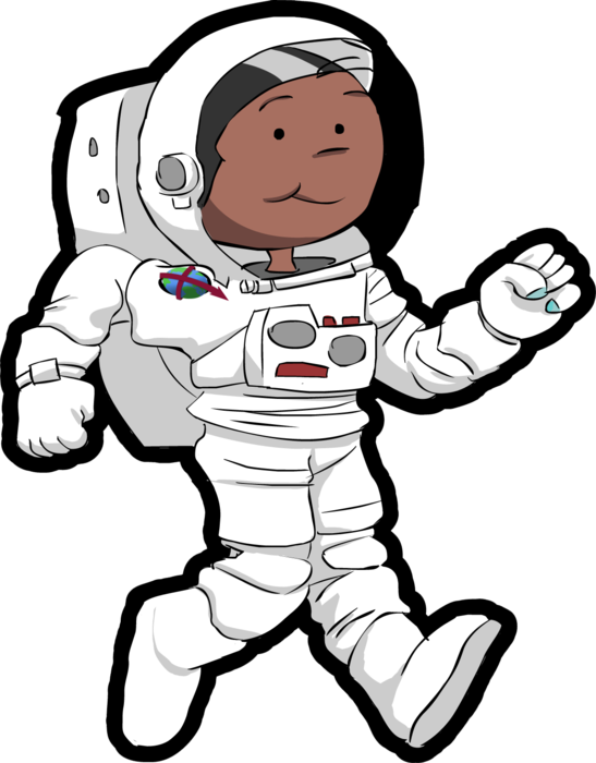 Space in images charlie. Planet clipart astronaut